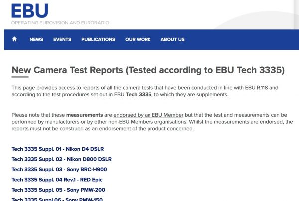 The EBU website.