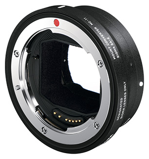 Sigma's new MC-11 mount convertor will adapt the company's EOS or SA mount lenses for use on Sony E-mount.