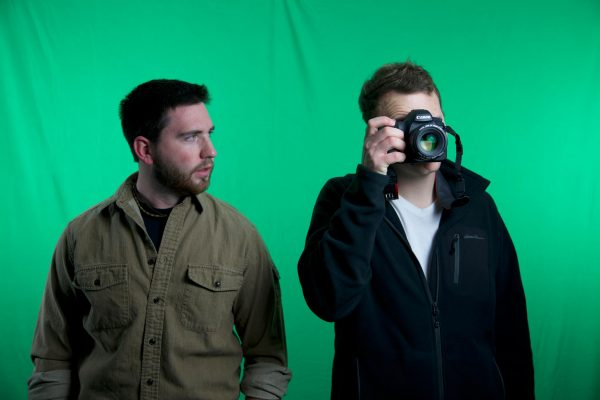 L to R: Filmmakers  Justin Grubb and Alex Goetz