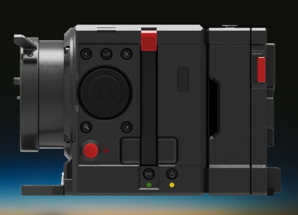 The side of TERRA showing the SSD drive bay.