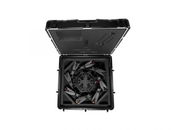 Batteries not included, but you do get a Peli case to protect your drone in transit.