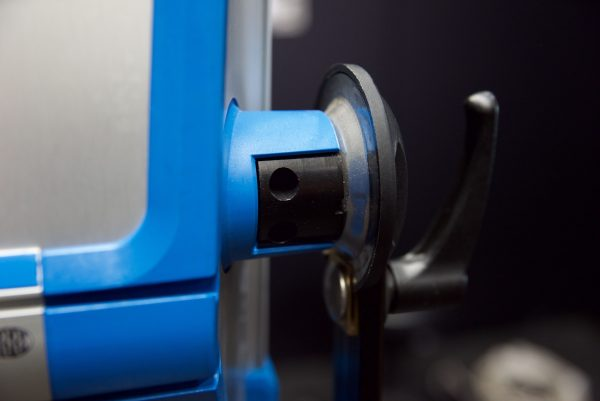 You can remove the yoke by using a allen key but it is still too big to fit in most hard cases.