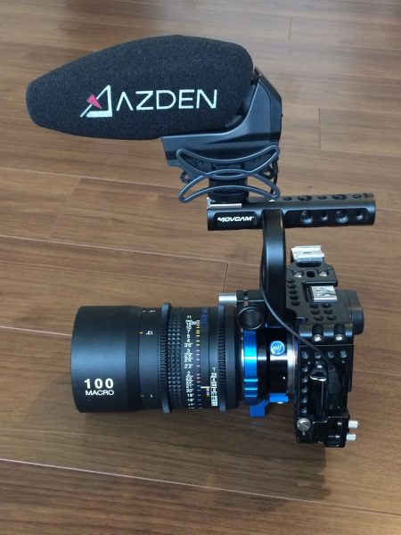 The SMX-30 on the Sony a7S