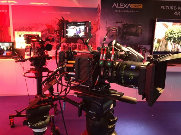 ARRI have been the dominant player in the high-end camera market for several years.