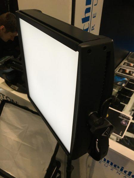 The Lightpanels Astra 1x1 Soft bi-colour.