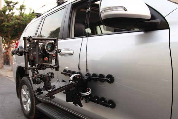A Mount, Movi M15 and RED held with 16 magnets.