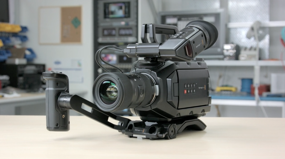 We Re Building Them As Fast As We Can Blackmagic Ursa Mini 4 6k And Micro Cinema Camera Shipping Without Global Shutter Newsshooter