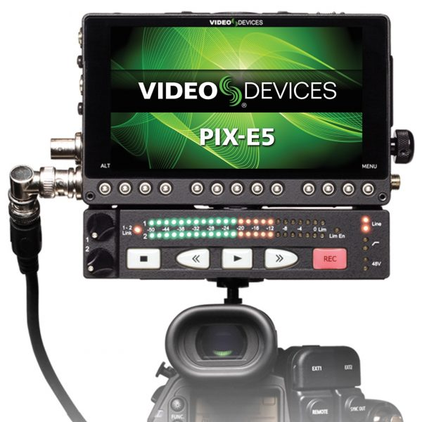Video Devices PIX-E5 and PIX-LR on camera (1)