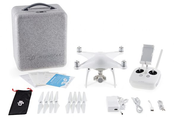 The Phantom 4 kit
