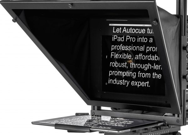 Autocue tele-prompting solutions for the iPad Pro - Newsshooter