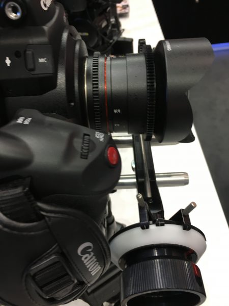 The VDSLR 14mm used for the comparison.