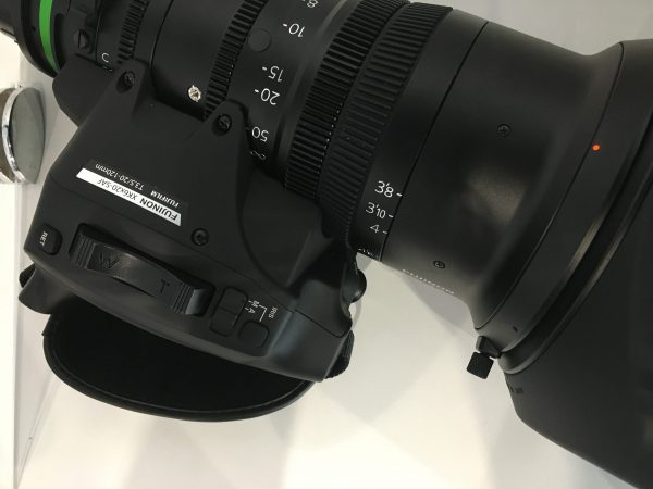 The lens has a detachable Cabrio servo unit - similar to those seen on ENG lenses. Copyright: Newsshooter.com