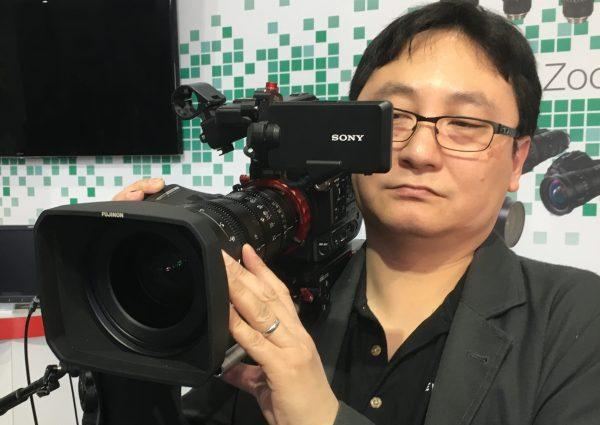 Newsshooter.com's Dan Chung tries the lens