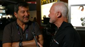 NAB 2016 Rodney Charters talks to director and cameraman Steve Campanelli