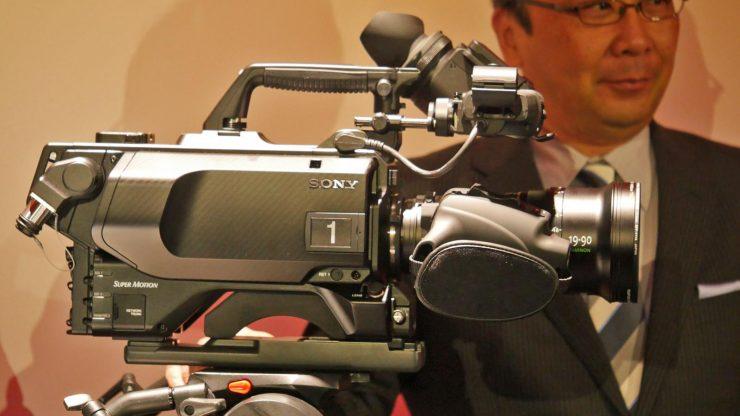 SONY HDC 4800 UHFR side