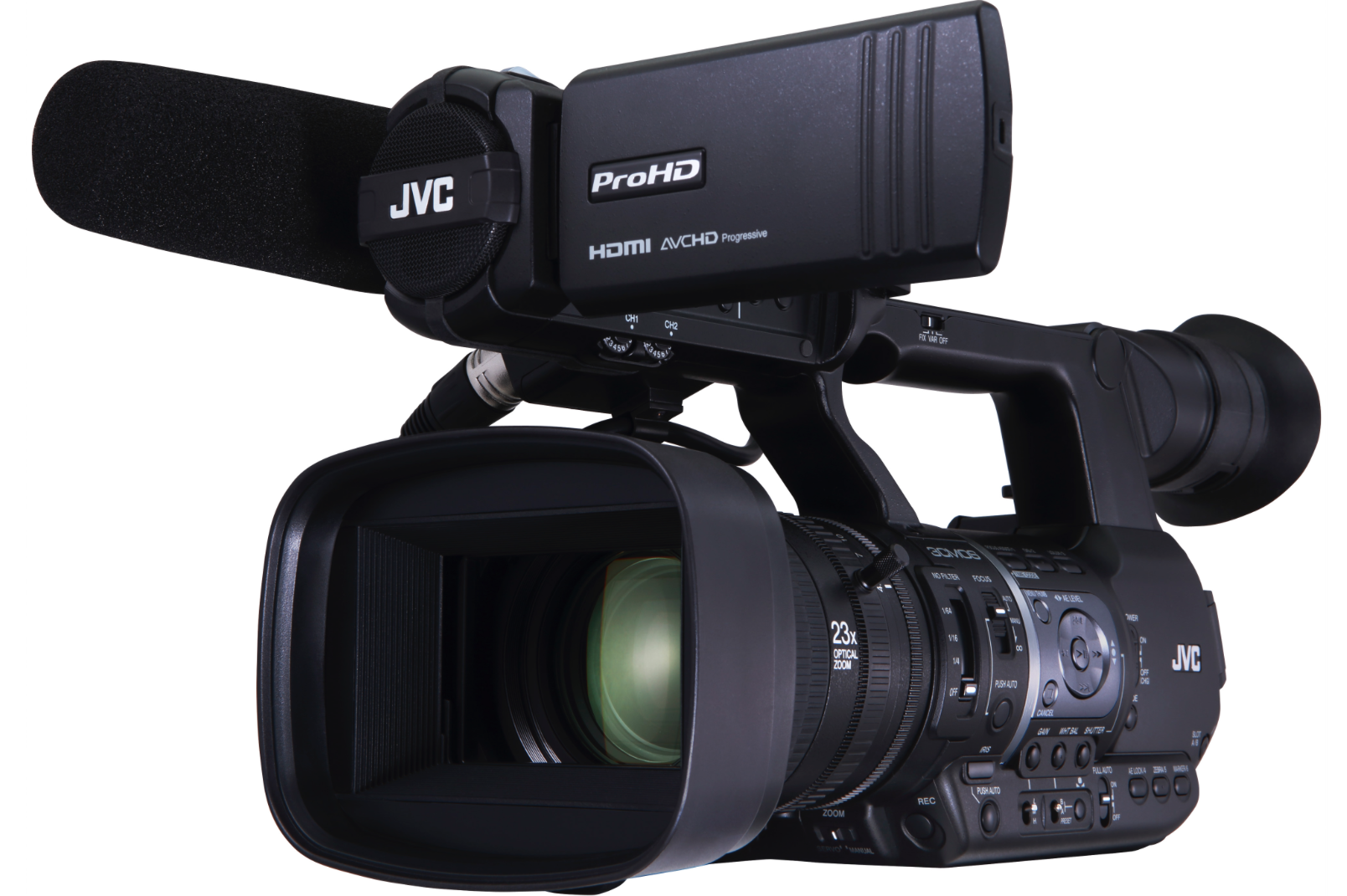JVC adds built-in IFB to their GY-HM660 mobile news camcorder