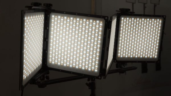 The panels are bi-colour and substantially more rugged than the regular flexible LED panels.
