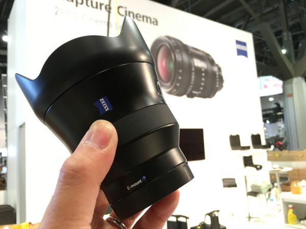 The 18mm f/2.8 Batis offers E-mount shooters a fast, full-frame wideangle.