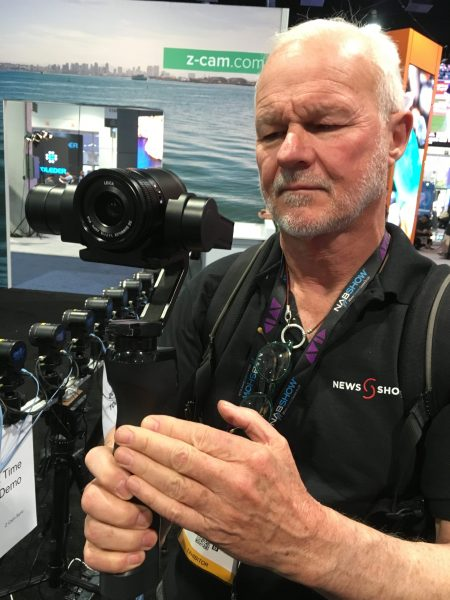 The C1 in gimbal mode
