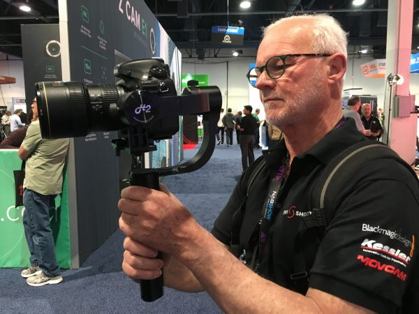 DP Rodney Charters tries out the Pilotfly H2