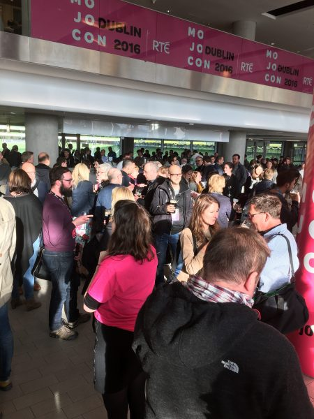 Mojocon was a sell out event with attendees from many major media outlets and academic institutions