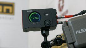 Newsshooter at NAB 2016 Cmotion Cfinder III Laser Rangefinder Cdistance display