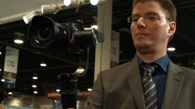Newsshooter at NAB 2016 Pilotfly H2 gimbal for one or two handed use 1