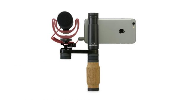 The Shoulderpod R1 with Rode mic