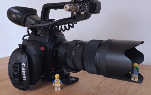 The 50-100mm f1.8 on my Canon C100 mkII
