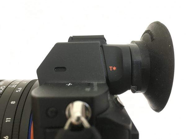 The Hoodeye is designed to work with both first and second versions of the a7