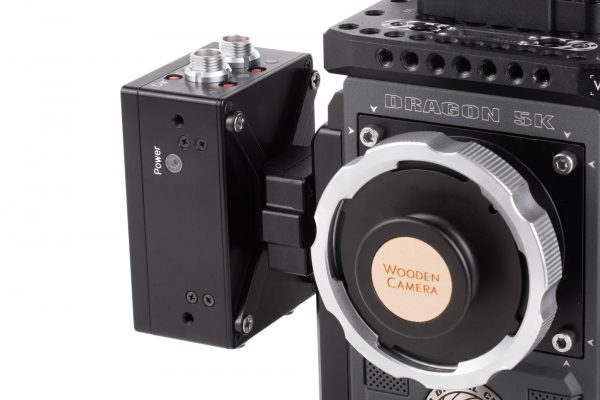 A Preston motor control unit is one of the many things that can mount in the new system using a custom plate.