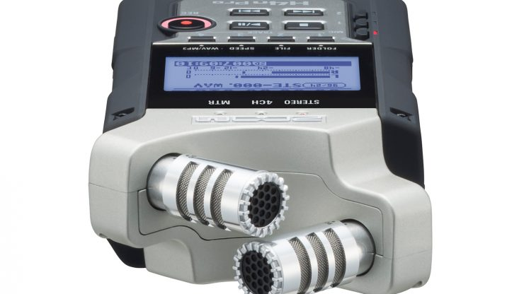 Zoom H4n Pro - an improved version of the most popular audio