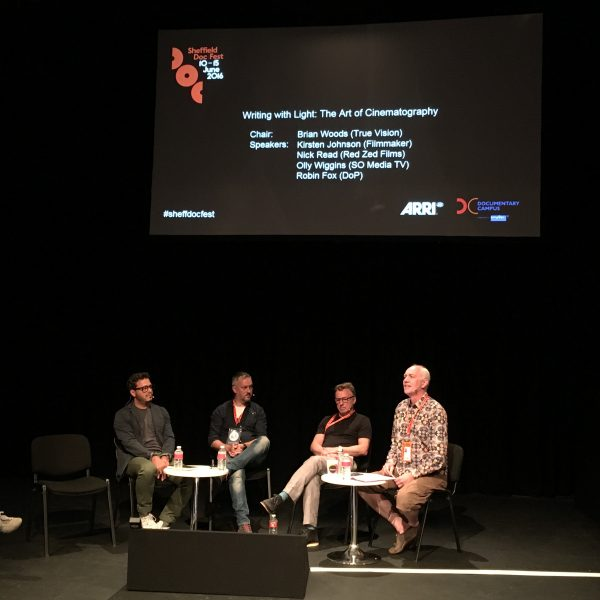 The ARRI 'Art of Cinematography' panel at Sheffield Doc Fest