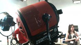 Newsshooter at Cinegear 2016 Mole Richardson Tener 10K LED light