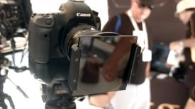 Newsshooter at Cinegear 2016 NiSis 4x4 cine filter holder is lightweight and inexpensive 1