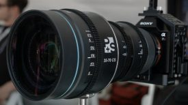 Newsshooter at Cinegear 2016 PS Technik 35 70 CS 1.5x Anamorphic zoom lens