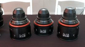 Newsshooter at Cinegear 2016 TLS rehoused vintage Canon K 35 primes