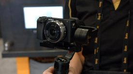 Newsshooter at NAB 2016 Ikan Beholder MS 1 and DS 1 brushless gimbals