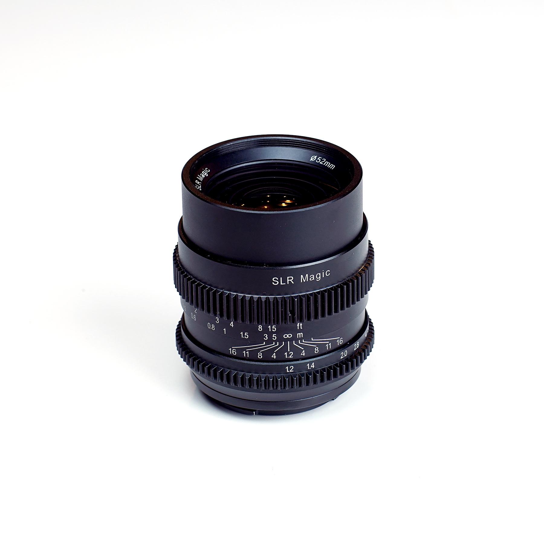 SLR Magic announce two new Sony FE full frame lenses- the CINE 35mm ...
