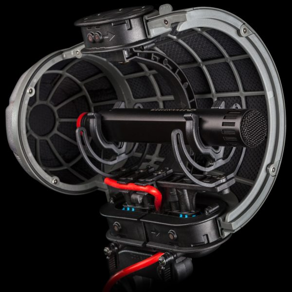 The Rycote Lyre suspension system inside the Cyclone