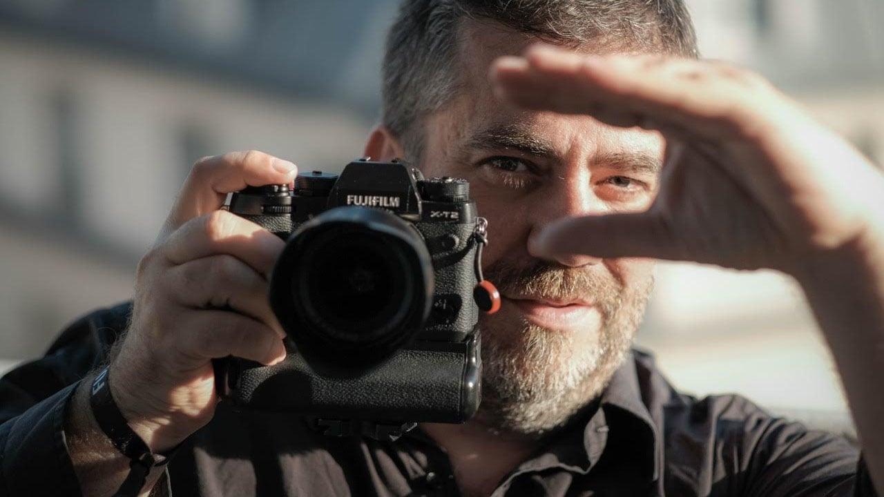 Emmanuel Pampuri says the Fujifilm X-T2 4K camera is 'amazing'