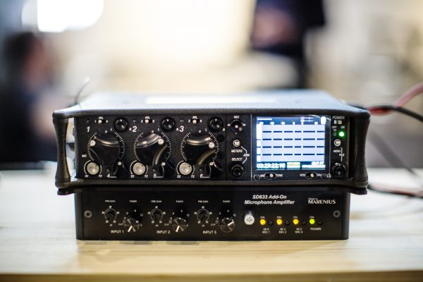 The Sounds Devices 633 and expander combined