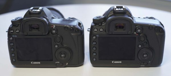 Which is which? The form factor of the new camera is the same as the Mark III.
