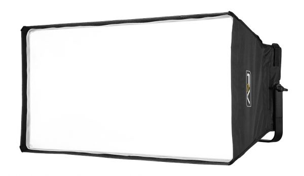 The optional KS-2 softbox will be available once the light starts shipping.