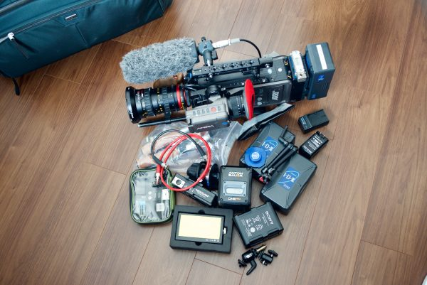 Everything that I keep in the Video Workhorse 25.