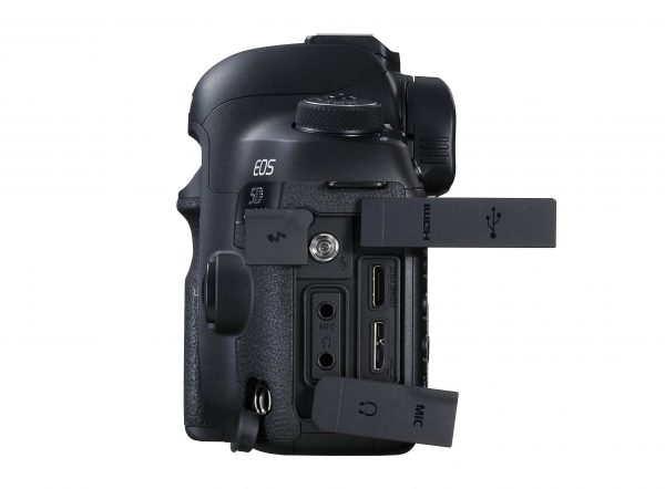 The 5D MarkIV has a HDMI port but the output is only HD, not 4K