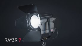 Introducing the RAYZR 7 LED fresnel 1
