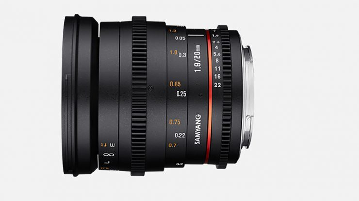 NEWsamyang product photo mf lenses 20mm t1.9 camera lenses banner 04