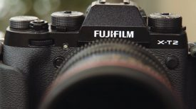 Newsshooter Fujifilm X T2 4K APS C mirrorless camera video function hands on pre production model