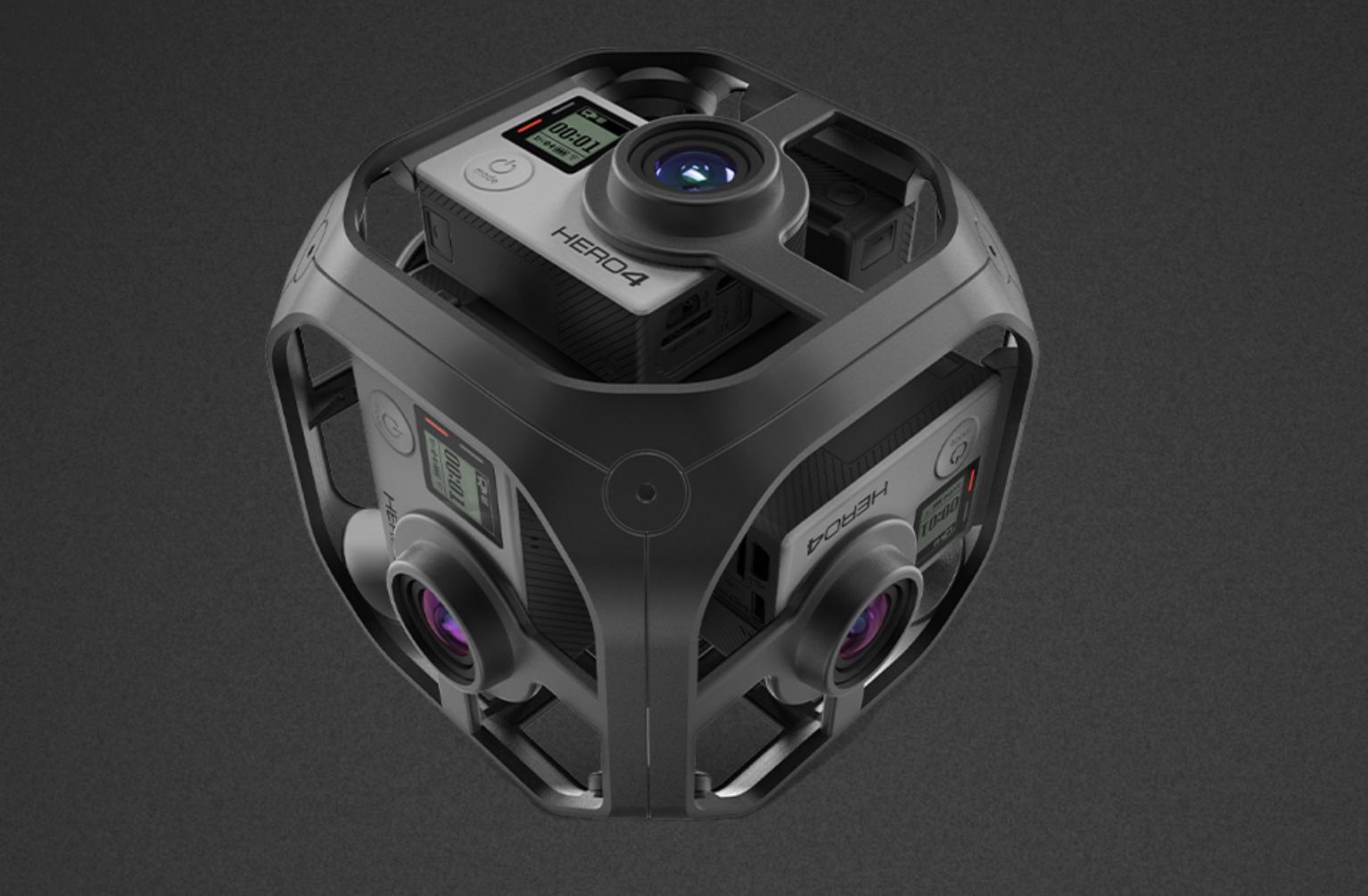 GoPro finally starts shipping its Omni 360-degree, spherical, VR